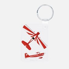 T-Shirt Front on Black Keychains