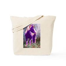 Piebald Unicorn Tote Bag