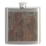 Irish setter Flask Bottles