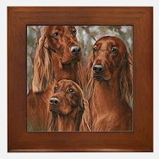 The girls of Tuesday Framed Tile