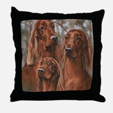 The girls of Tuesday Throw Pillow