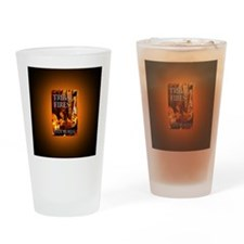 Tribal Fires button mag Drinking Glass