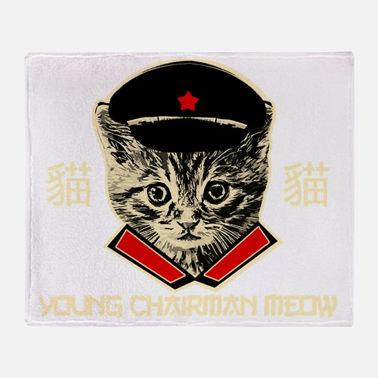 chairman_meoww Throw Blanket
