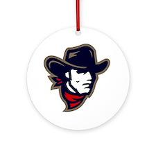 New Mavs Logo Round Ornament