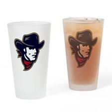 New Mavs Logo Drinking Glass