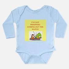 fishing Long Sleeve Infant Bodysuit