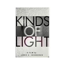 Kinds of Light poster Rectangle Magnet
