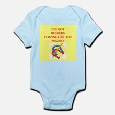 horseshoes Infant Bodysuit