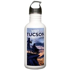 Visit Tucson poster Water Bottle