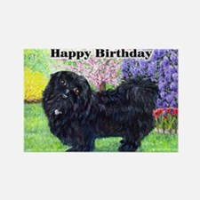 quincynotecdbday Rectangle Magnet
