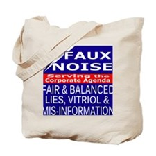 Faux Noise Lies - Vitriol T shirt Tote Bag