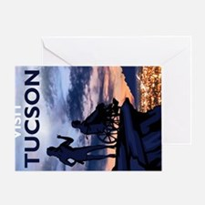 Visit Tucson postcards Greeting Card