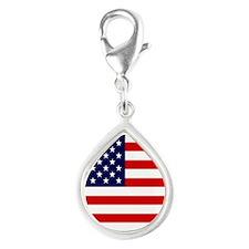 American USA Flag Charms