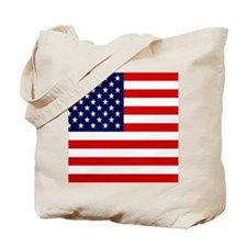 American USA Flag Tote Bag