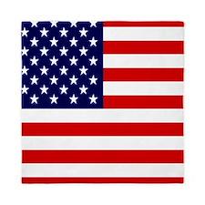 American USA Flag Queen Duvet