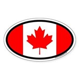Canada sticker Bumper Stickers