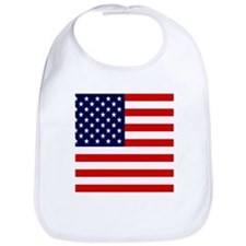 American USA Flag Bib