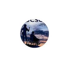 Visit Tucson framed print Mini Button