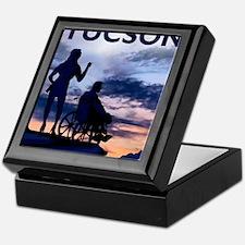 Visit Tucson framed print Keepsake Box