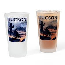 Visit Tucson framed print Drinking Glass