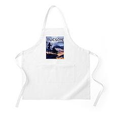 Visit Tucson framed print Apron