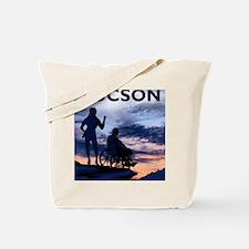 Visit Tucson framed print Tote Bag