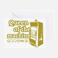 queenSlotD Greeting Card