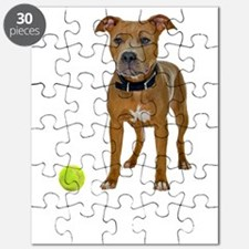 FIN-fawn-pit-bull-life-WonB Puzzle