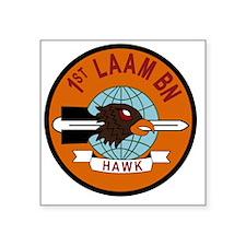"1st LAAM BN Square Sticker 3"" x 3"""