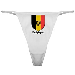 Belgique / Belgium Shield Classic Thong