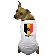 Belgique / Belgium Shield Dog T-Shirt