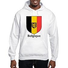 Belgique / Belgium Shield Hoodie