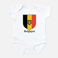 Belgique / Belgium Shield Infant Bodysuit