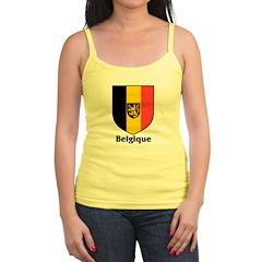 Belgique / Belgium Shield Jr.Spaghetti Strap