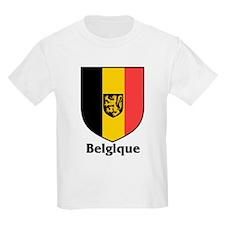 Belgique / Belgium Shield Kids T-Shirt