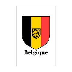 Belgique / Belgium Shield Posters