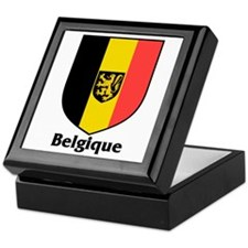 Belgique / Belgium Shield Keepsake Box