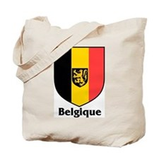 Belgique / Belgium Shield Tote Bag