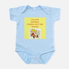 phobias Infant Bodysuit
