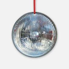 SoapBoxHeadlight Round Ornament