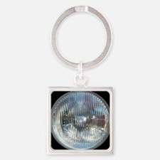 SoapBoxHeadlight Square Keychain