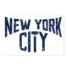NYC_merch_blu Postcards (Package of 8)