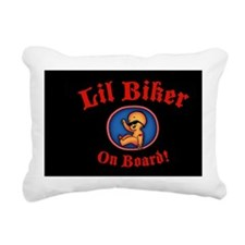 biker-womb-OV Rectangular Canvas Pillow