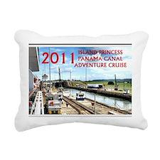 Panama Canal - rect. pho Rectangular Canvas Pillow