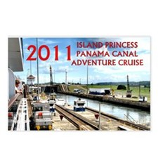 Panama Canal - rect. phot Postcards (Package of 8)