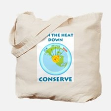 Earth's Heat Dial Tote Bag