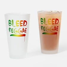 bleedreggae DARK Drinking Glass