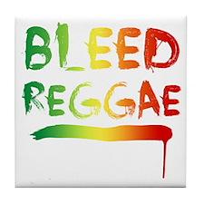 bleedreggae DARK Tile Coaster