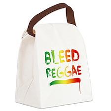 bleedreggae DARK Canvas Lunch Bag