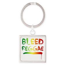 bleedreggae DARK Square Keychain